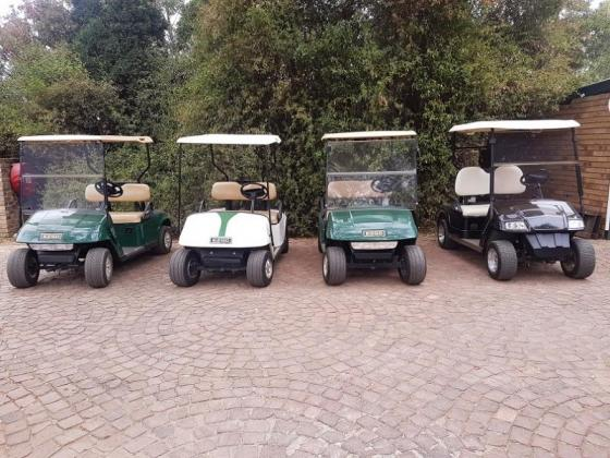 Various Golf Carts - Excellent Condition