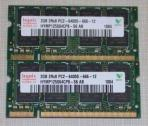 2x 2Gb DDR2-800/667MHz RAM Memory for Older Laptops