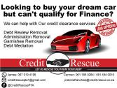 Want to buy your dream car or house but can't because you are Blacklisted or under Debt Review? We c