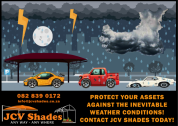 Shade net and IBR Roofing Carports