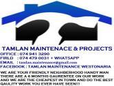 Tamlan Maintenance & Projects