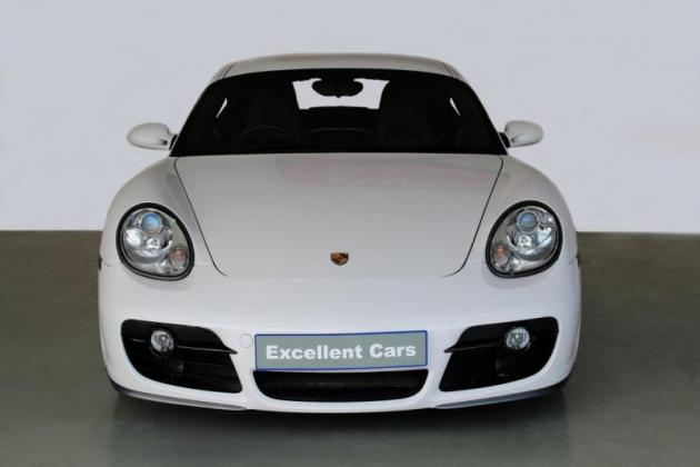 2006 Porsche Cayman 3.4 S Tiptronic, White with 100000km