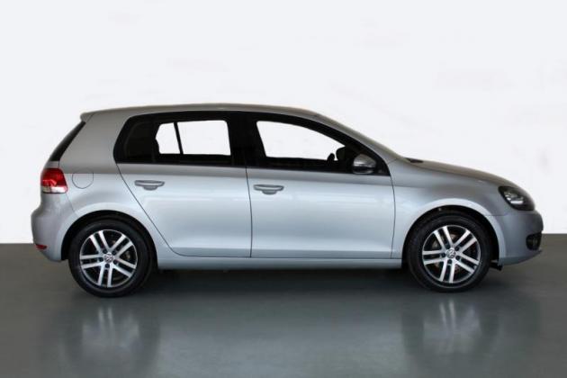 2012 Volkswagen Golf VI 1.4 TSI Comfortline DSG, Silver with 120000km