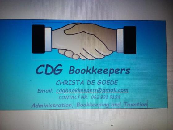 Bookkeeping, Administration and Taxation Services