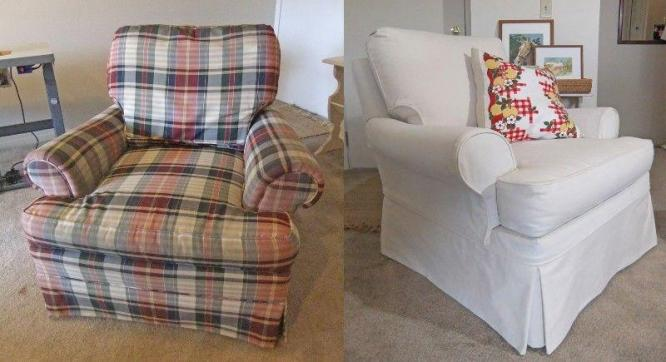 Couch Re-upholstery, Slip Covers ,Patio Cushions & Repairs
