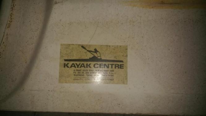 Kayak + Spaan Te Koop!