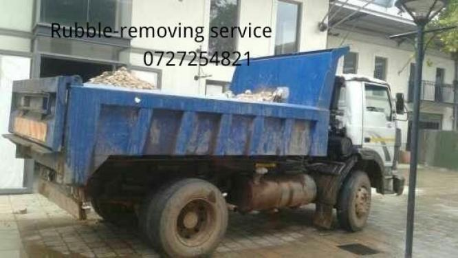 Rubble removals services
