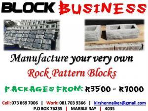 Face Brick Manufacturing Biz R3500