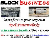 Face Brick Manufacturing Biz R3500
