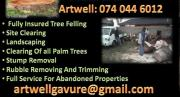Eagle Nest Treefelling, sump removal, landscaping and much more