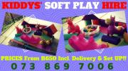 ON SPECIAL! Kiddies SOFT PLAY for Hire & <font class=