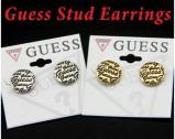 Guess Earrings Fashion Jewelry Rose Gold / Silver New!!