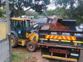 Rubble remover 8ton truck