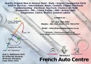 WE BUY CARS NON - RUNNER OR ACCIDENT DAMAGED FOR PARTS - RENAULT&PEUGEOT&CITROEN!!!