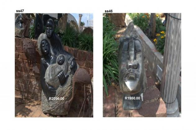 Handcrafted Stone Statues
