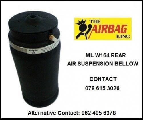Front air suspension air spring / air bellows for Mercedes Ml w164 in Randburg, Gauteng
