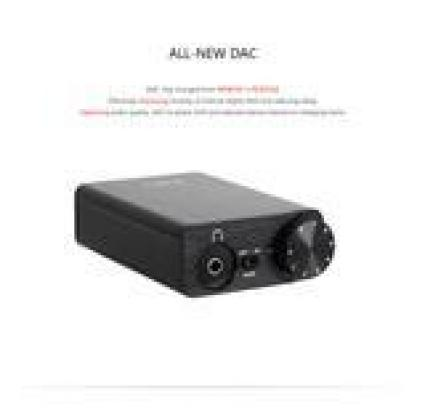FiiO - E10K USB DAC and Headphone Amplifier