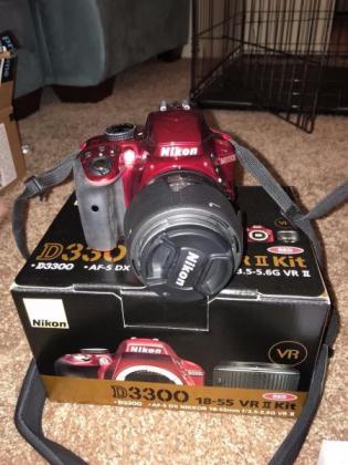 Nikon D3300 DSLR Camera with 18-55mm and 55-200mm Lens Kit