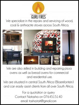 Servicing & repairs anthracite, coal and wood stoves.