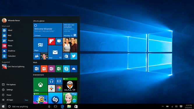 Upgrade to the latest and greatest Windows ever!