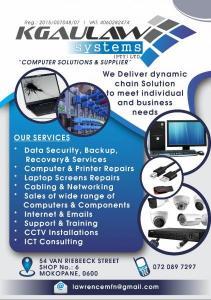 Computers (sales and repairs)