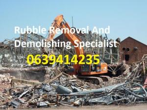 Tlb hire / Structure Demolition / Rubble removal