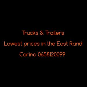 Trucks & Trailers .. Christmas specials in October