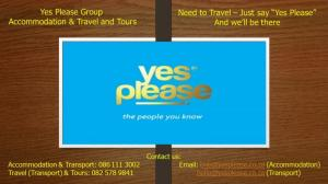 Yes Please Group - Accommodation & Travel and Tours