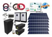 10kW single Phase System with 14,8kWh lithium-ion Battery