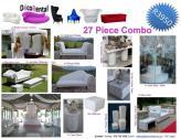 27 Piece Wedding Combo – R3950