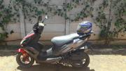 Gomoto Nippi 150cc Black Scooter