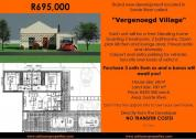 Plot and Plan residential | Eerste River Development | R325,000