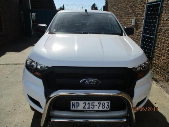 2017 FORD RANGER 2.2 XL. D.CAB AUTO