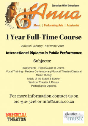 Part-time & Full-time Studies Music & Performing ARTS