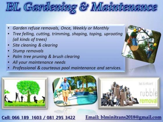 BL Gardening & Pool Maintenance