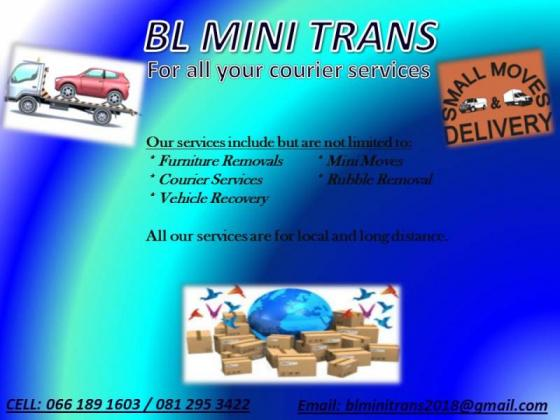BL MINI Trans - For all your courier services