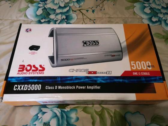 Boss Audio CXXD 5000 1ohm Stable Monoblock Amp in Pietermaritzburg, KwaZulu-Natal