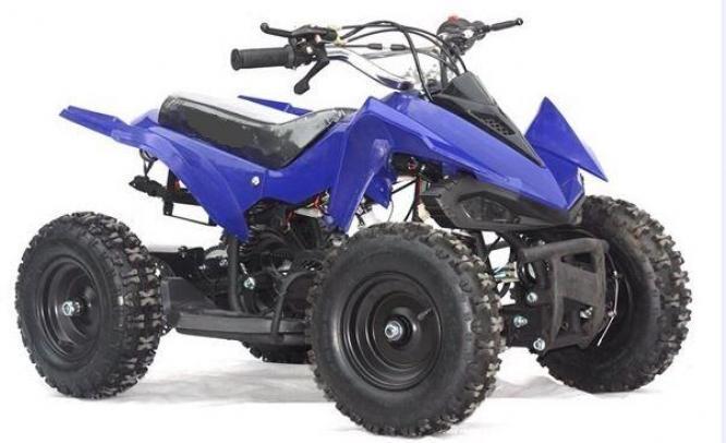 Kids Pocket Quad Bike 49cc- Brand New - Modern Design - 6 INCH Wheels - Double Exhaust