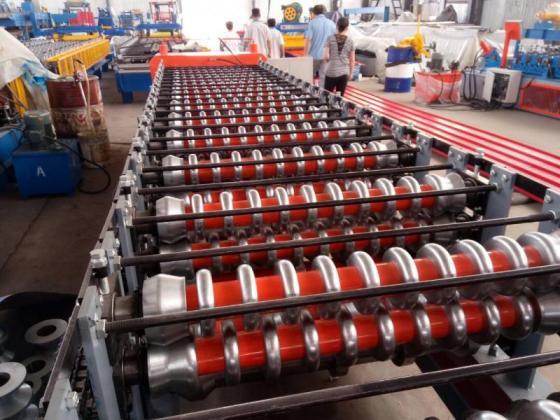 New Revaro Double Layer Roof Panel Roll Forming Machine