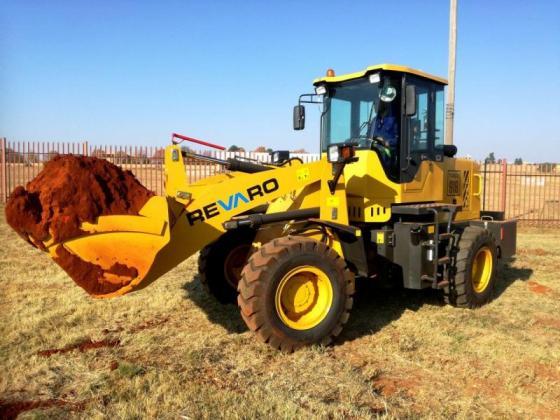 New Revaro T-REX 918 1.8 Ton Front Wheel Loader