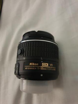 Nikon D5500 Dx-format Digital Slr W 18-55MM VR II Kit Black in Port Elizabeth, Eastern Cape