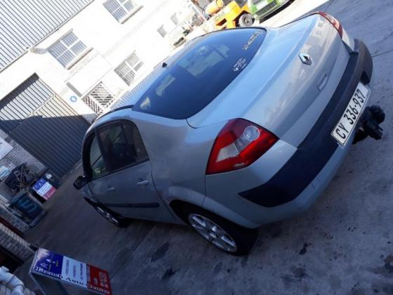 Renault Megane 2 Sedan – 1.6 16v. - Striping for Spares from 2003-2007 model–All vehicle available