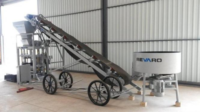 Revaro New RS5-2 Block & Brick Making Machine