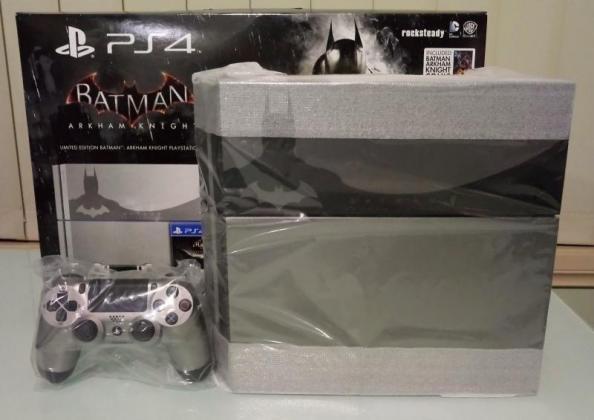 Sony Ps4 500GB Batman Arkham Knight Console 2X Dual Shock + 3X Games Festive deal