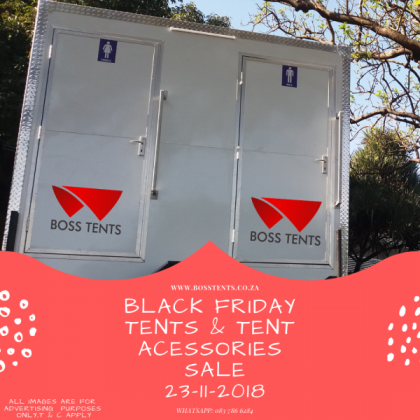 Tents for sale at Boss Tents