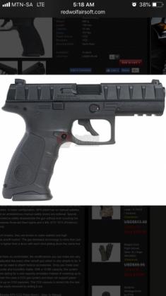 Umarex beretta  gas co2 gun