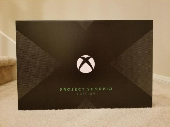 Xbox One X Project Scorpio Edition 1TB + 2 Controllers (Festive season deals) in Eerste River, Western Cape