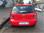 2012 Volkswagen Polo Vivo Hatch 1.4 Trendline, red with 70000km