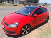 Vw Polo Gti 2011 model red in colour