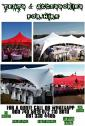 Tent, Tables and Chairs for Hire.